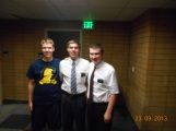 Elder Weeks, Elder Jacobs and Elder Transier