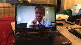Skyping with Elder Weeks on Christmas