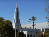Redlands California Temple, 1 mile from our house