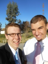 Elder Weeks and former Zone Leader Elder Ulrich
