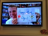 Skyping with Elder Weeks on Mother's Day