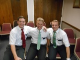 Elder Howard (I lived by him in Yucaipa), Elder Perkins (Has been in my zone since we were companions)