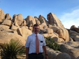 Connor at Joshua Tree National Park