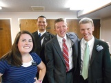Elder Taylor, Sister McCoy, and Elder Harp