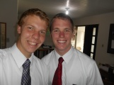Elder Eddington and me