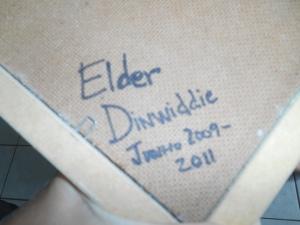 Elder Dinwiddie Frame