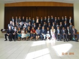Zone Conference in Maceio. Connor is in the second row on the right side.