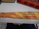 The back of the posterity tie I gave to Elder Sorenson.