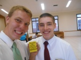 Selfie with Elder Basden