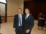 Elder Borget and me