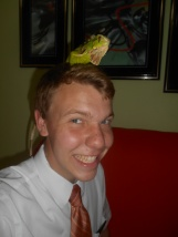 Me and my iguana friend